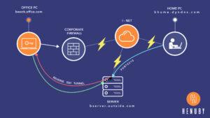 Henuby Reverse SSH Server Utility